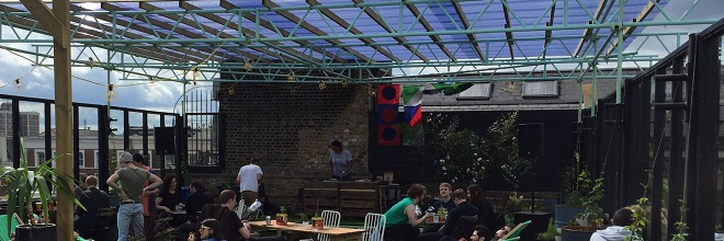 Dalston Roof Park by Dalston Roof Park