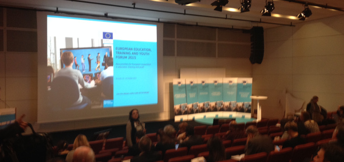 European Commission Education, training & youth forum Brussels 2015